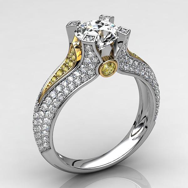 stl engagement ring 2 3d model