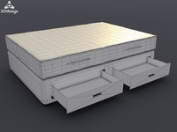 3d model mattress air coniston