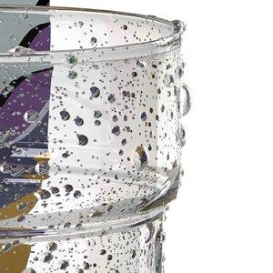 3d model of glass water drops
