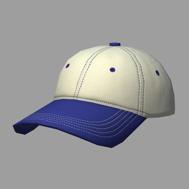 3d ready cap