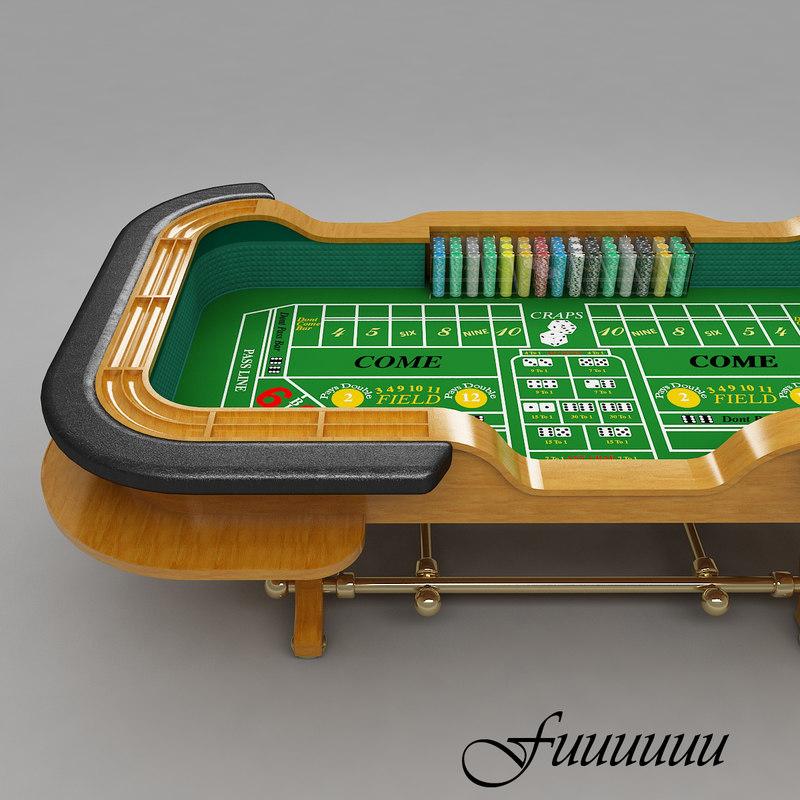 3ds max craps table 4