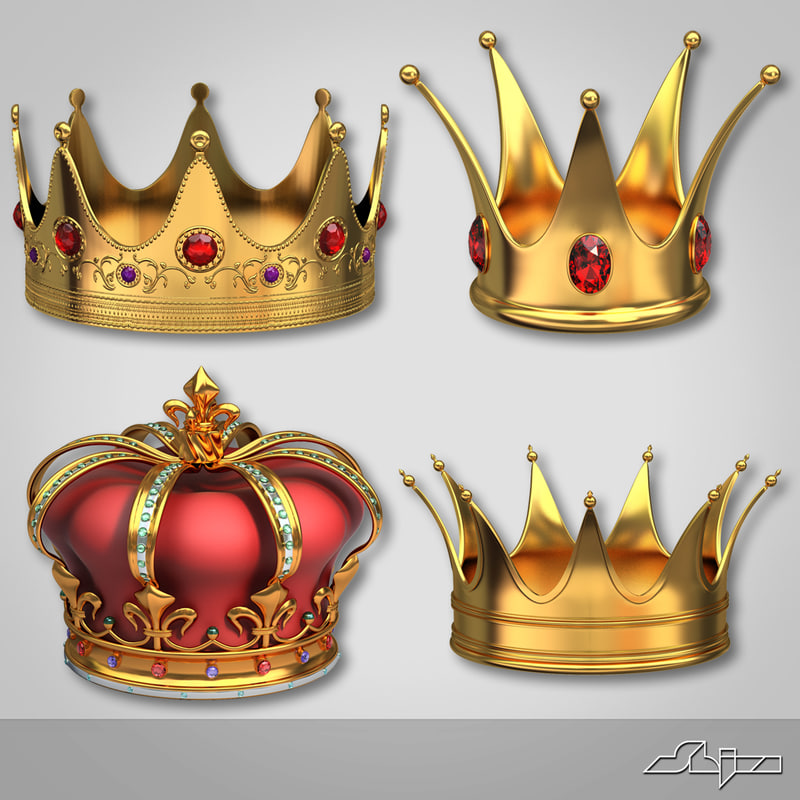 Krone Gemalt