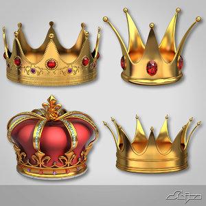 3d crown 1 model