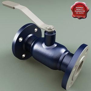 flanged ball valve v2 max