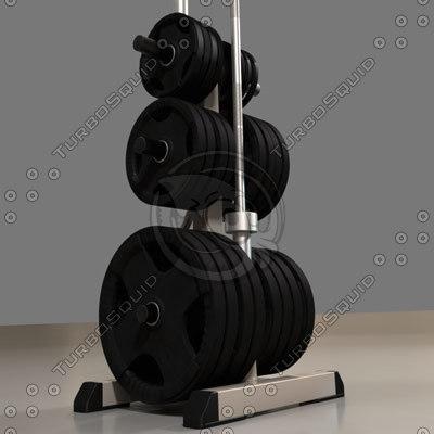 weight rack 3d model
