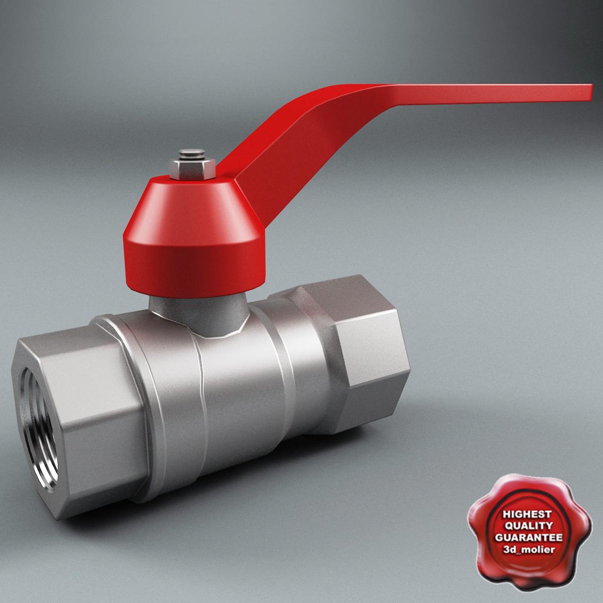 gate valve v4 3ds