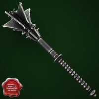 medieval mace 3ds
