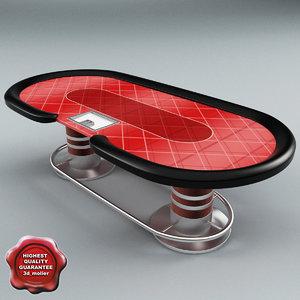 3dsmax poker table v2