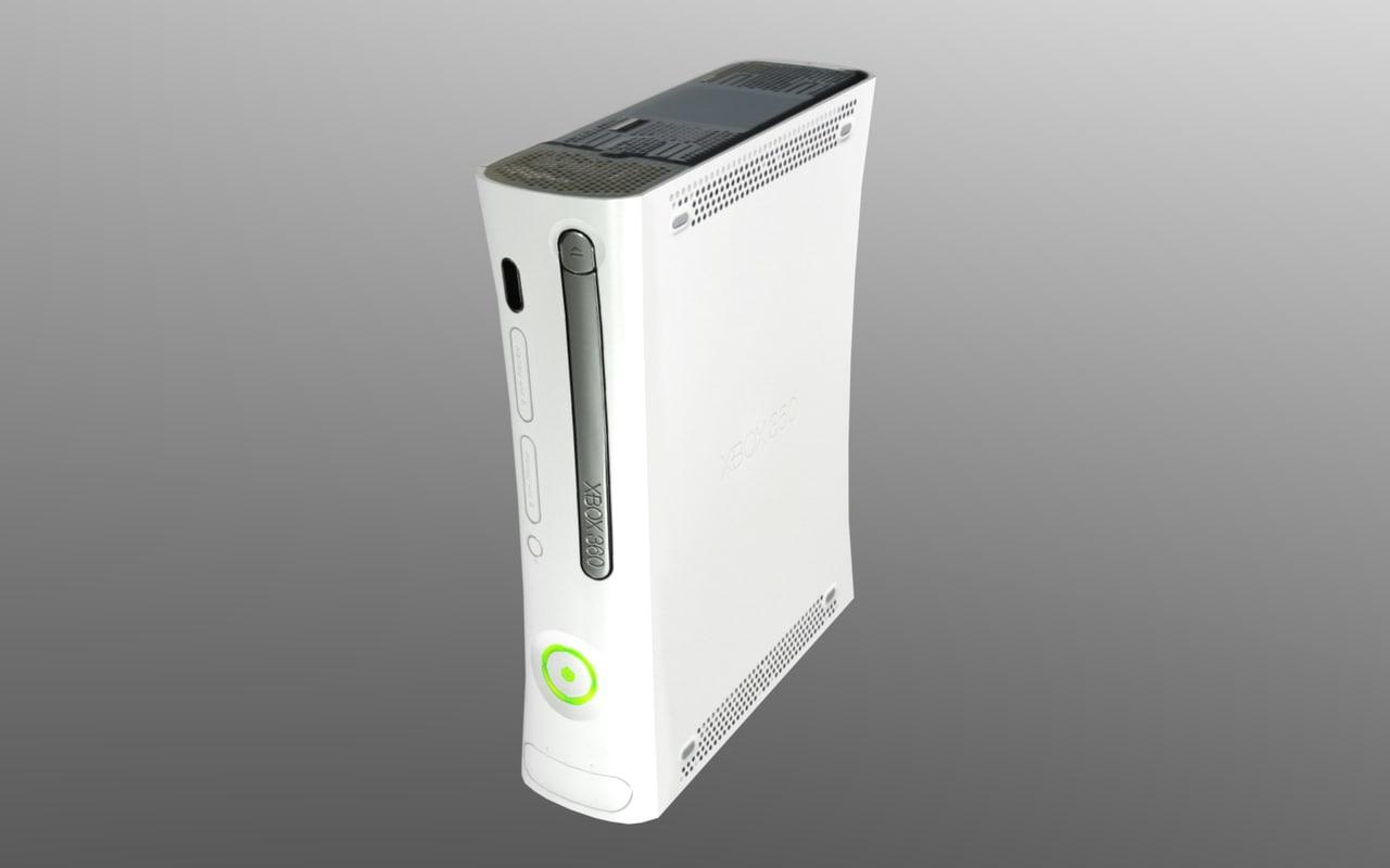3d console video games model