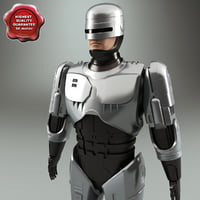 3d model of robocop static