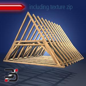 c4d structure roof