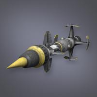 SciFi Missile