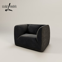 fashion supersoft armchair max