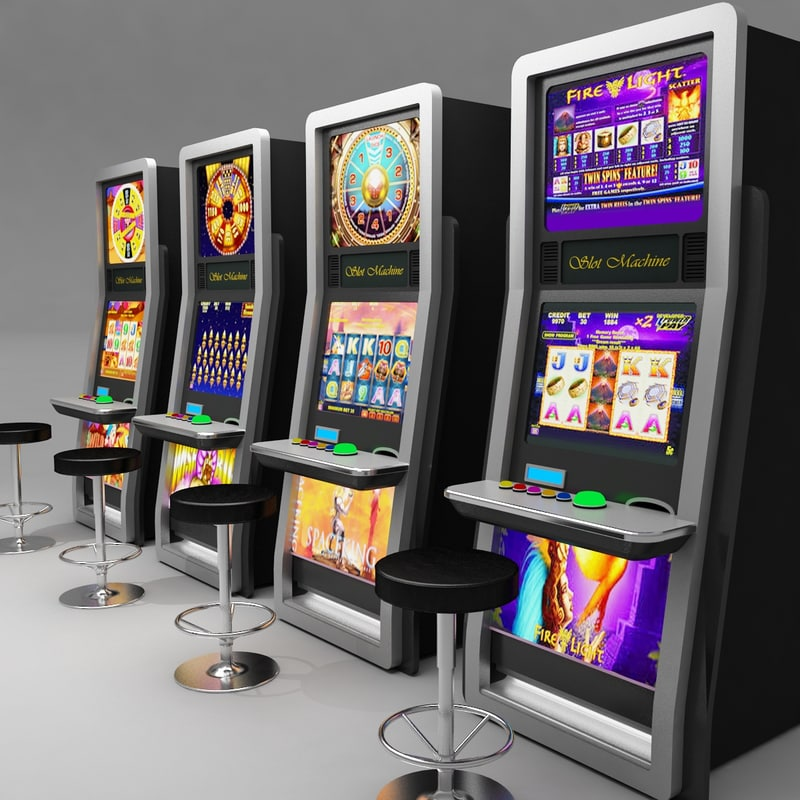 Slot machine texture