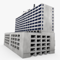 Building With Parking Garage