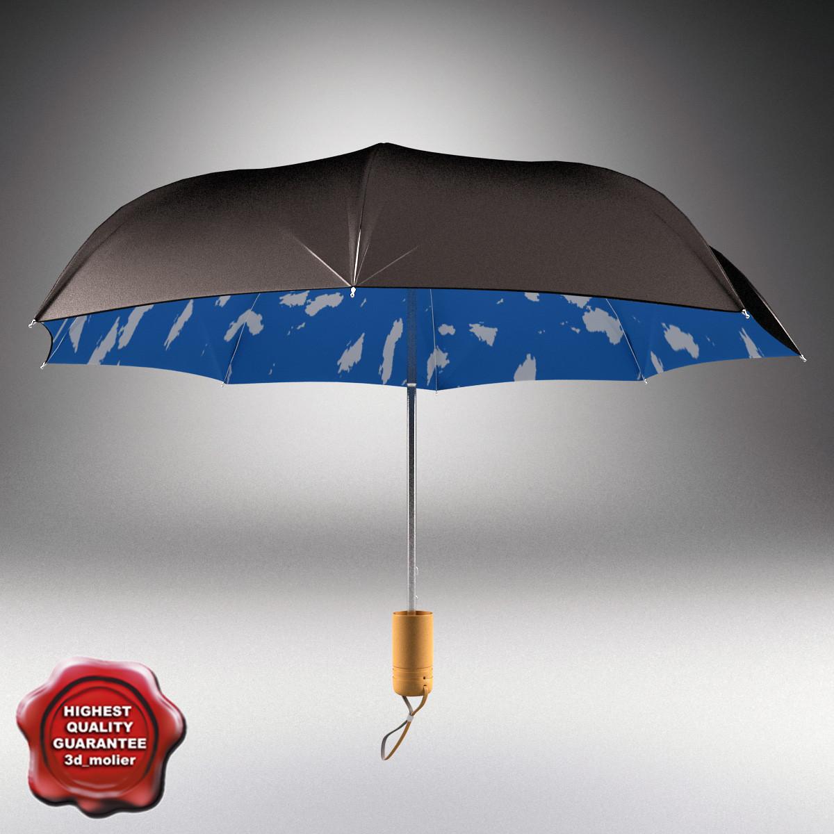 3ds max umbrella open v2