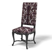 Angelo Cappellini classic Dining Chair  high baroque glamour carved