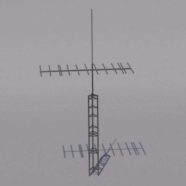 tv antenna 3d 3ds