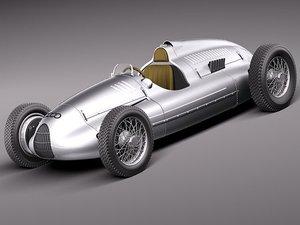 3d model autounion auto union type