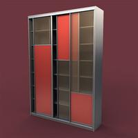 maya bookcase