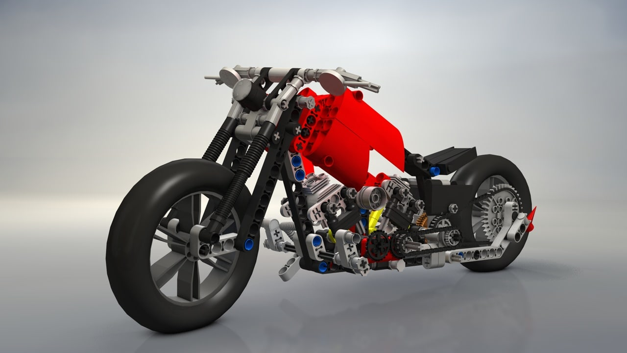 c4d lego cycle