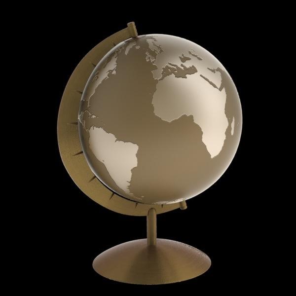 3ds max globe
