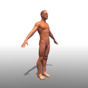 3d max human man