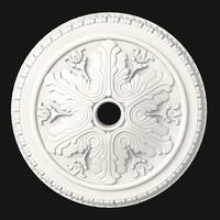 petergof classic ceiling decor rose medallion rosette p32a