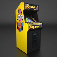 Q*bert Arcade Low Poly