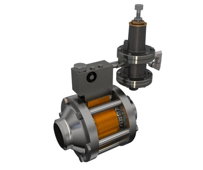3ds max gas pressure regulator