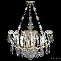 Schonbek 2786-47 Classic crystal luxury swarowski glass chandelier candle light ceiling lamp