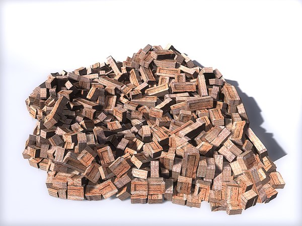 3d model brick
