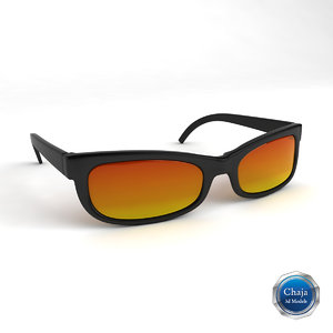 3d sunglasses glasses sun model