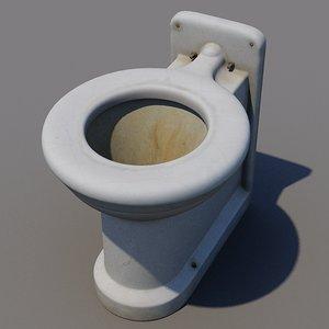 public wc 3d model