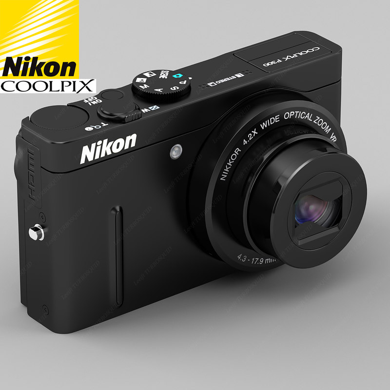 3d new nikon coolpix p300