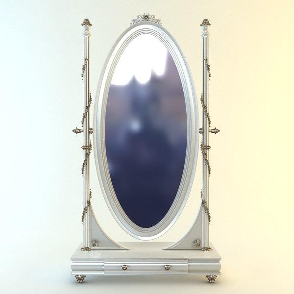 3ds max floor mirror