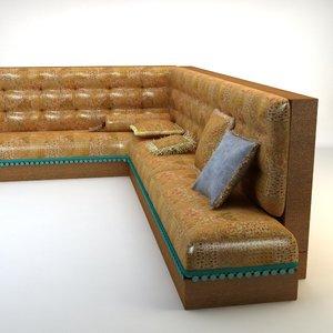 3d max turkish sofa