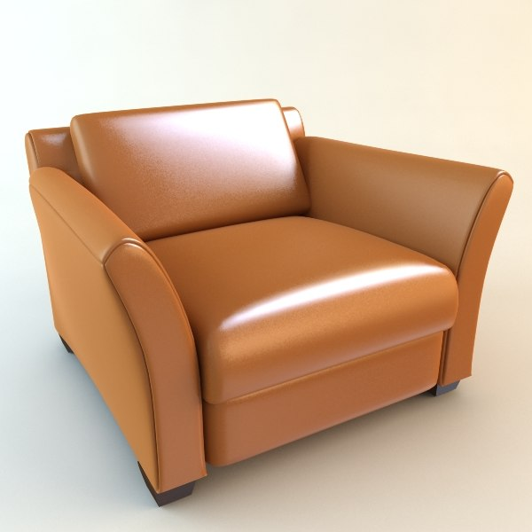 3ds leather chair