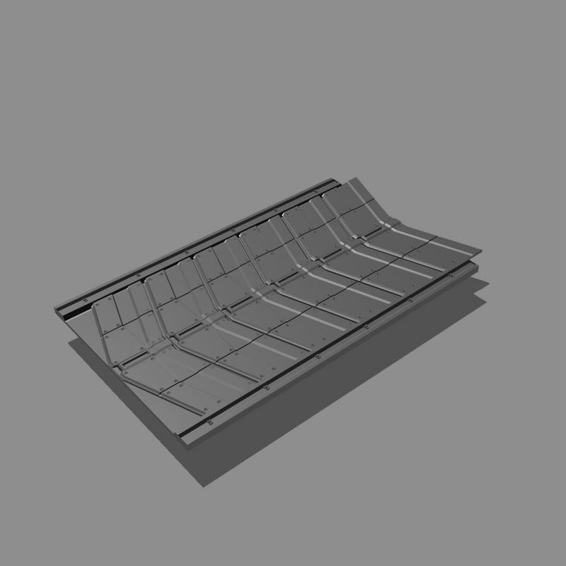 scifi floor tileable obj