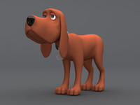 Cartoon Dog with Rig