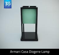 armani casa diogene lamp max
