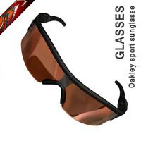 3d sport glasses oakley