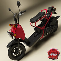 honda zoomer scooter 3d model