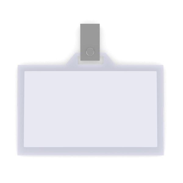 3d model id card