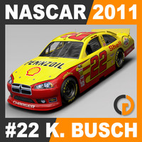 Nascar 2011 Car - Kurt Busch Dodge Charger #22