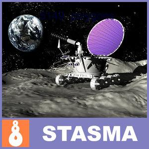 max lunokhod unmanned lunar