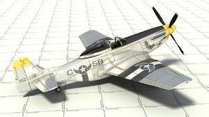 3d model d p fighter