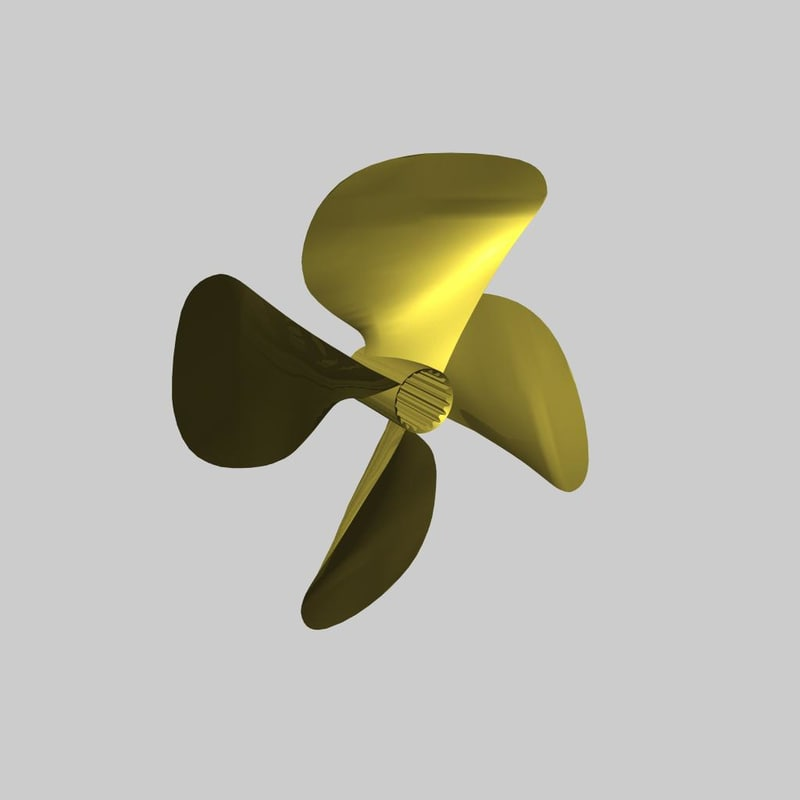 maya propeller inboard