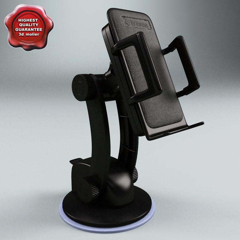 3d window mount holder model