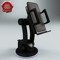 3d window mount holder model